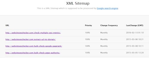 HTML Sitemap Generator